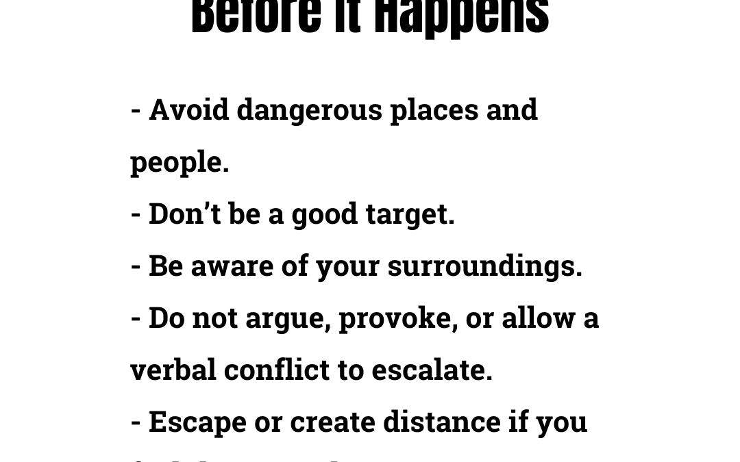 Prevent Danger Before It Happens